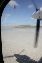 landing on Barra
